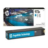 HP 973X High Yield Cyan Original PageWide Cartridge