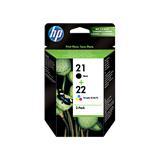 HP náplne č.21/22 kombinované balenie