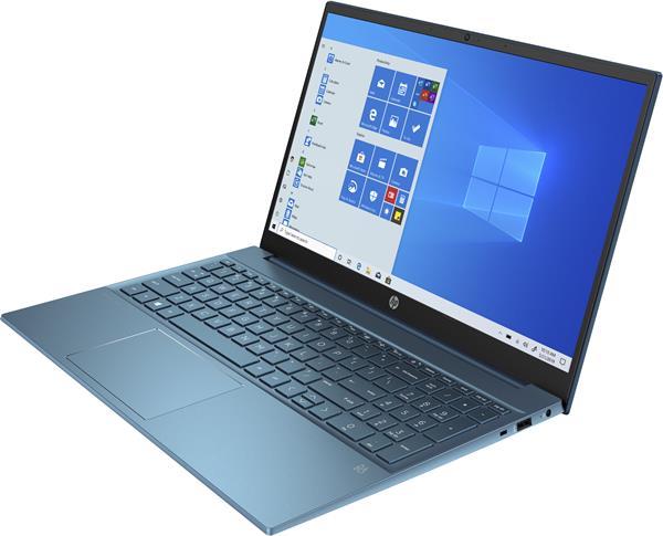 HP Pavilion 15-eg0003nc, i5-1135G7, 15.6 FHD, Iris Xe, 16GB, SSD 512GB, W10, 3-3-0, Forest teal