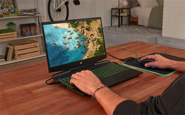 HP Pavilion Gaming 15-dk1009nc, i7-10750H, 15.6 FHD, RTX2060/6GB, 16GB, SSD 256GB + 1TB, W10, 2-2-0, Black