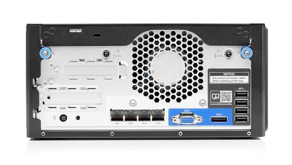 HPE ProLiant MicroServer Gen10 Plus G5420 3.8GHz 2-core 8GB-U S100i 4LFF-NHP 180W External PS Server