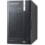 Infortrend,EonNAS Pro 200,2-bay NAS Storage, 2 x GbE, 4GB,RAID 0, 1, VMware®, Citrix®