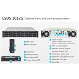 Infortrend EonStor DS 1000 2U/12bay, Single controller subsystem including 1x6Gb SAS EXP. Port, 4x1G iSCSI ports +1x ho