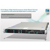Intel® 1U Server System R1208GZ4GCIOC Grizzly Pass) S2600GZ4 board 1U 8xHS 2x750W