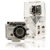 König akčná kamera s rozlíšením Full HD 1080p,vodotesným puzdrom a Wi-Fi