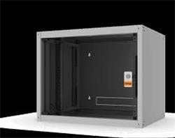 """Legrand EvoLine 19"""" nástenný rozvádzač 7U, 600x450mm, 65 kg, sklenené dvere"""