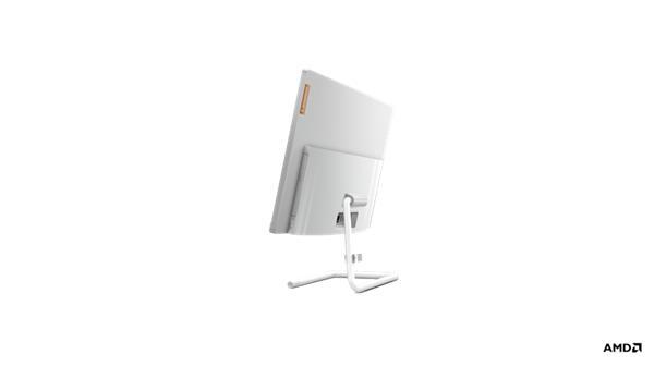 """Lenovo IC 3 24 AIO Ryzen 3 4300U 23.8"""" FHD matny UMA 8GB 256GB SSD DVD W10 biely 2yMI"""