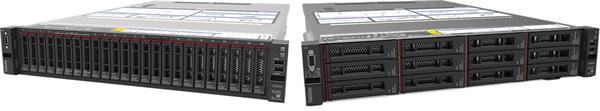 Lenovo Server SR650 Xeon Silver 4210 (10C 2.2GHz 13.75MB Cache/85W) 16GB (1x16GB, 2Rx8 RDIMM), No Backplane, No RAID, 1
