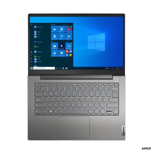 """Lenovo ThinkBook 14 Gen 2 Ryzen 7 4700U 14.0"""" FHD matny UMA 16GB 512GB SSD W10 sedy 1y CI"""