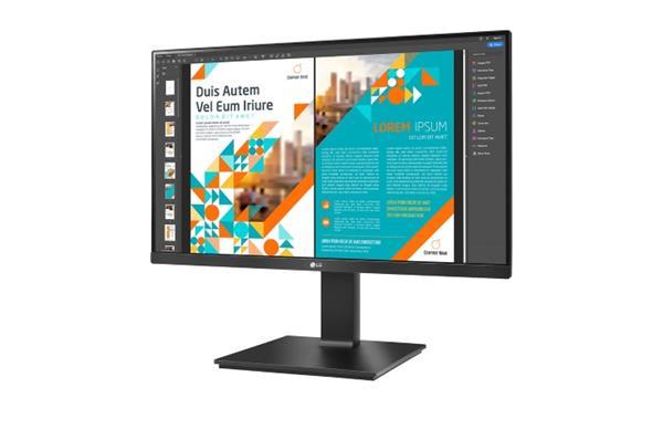 """LG 24QP550-B 23.8""""W IPS 2560x1440 5ms 5 000 000:1 300cd HDMI DP pivot čierny"""