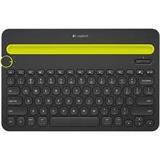 Logitech® Bluetooth® Multi-Device Keyboard K480 - BLACK - US INT'L - BT - INTNL