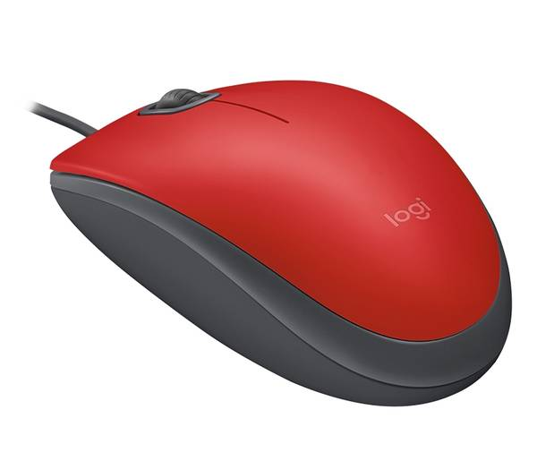 Logitech® M110 Silent - RED - USB
