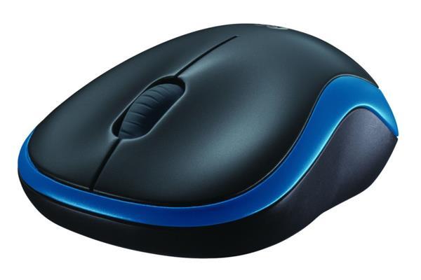 Logitech® M185 Wireless Mouse - BLUE - 2.4GHZ - EER2
