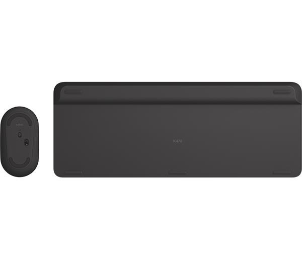 Logitech® MK470 Slim Wireless Combo - CZ/SK, Graphite
