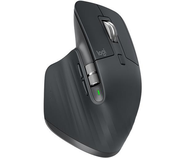 Logitech® MX Master 3 Advanced Wireless Mouse - GRAPHITE - 2.4GHZ/BT