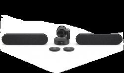 Logitech® Rally Plus Ultra-HD ConferenceCam - BLACK - USB