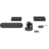 Logitech® Rally Ultra-HD ConferenceCam - BLACK - USB