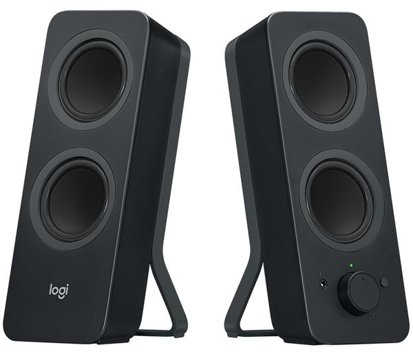 Logitech® Z207 Audio System 2.0 with Bluetooth – EMEA - Black