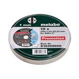 Metabo 10 rezných kotúčov SP 125x1,0x22,23 mm