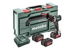 Metabo BS 18 LTX Impuls Set *Aku Vŕtačka so skrutkovačomTV00