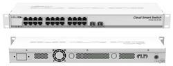 MIKROTIK RouterBOARD Cloud Smart Switch CSS326-24G-2S+RM + SwOS (24x GLAN; 2x SFP+) rack