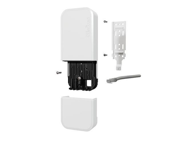 MIKROTIK RouterBOARD wAP ac (new revision) with RouterOS L4 license, white enclosure, International version /biela/