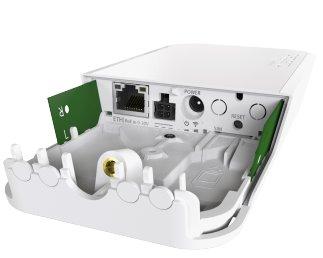 MIKROTIK RouterBOARD wAP LTE kit + L4 (650MHz, 64MB RAM, 1xLAN, 1x 802.11n, 1x LTE) outdoor