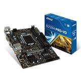 MSI B250M PRO-VD/Socket 1151/DDR4/USB3.1/DSUB/DVI-D/ALC887/mATX