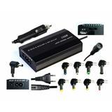 Napájací univerzálny adaptér 100W, AC 110-240V, výstup DC 12-24V, manual, 9 koncoviek