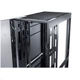 NetShelter SX 48U 600mm Wide x 1200mm Deep Enclosure with Sides Black