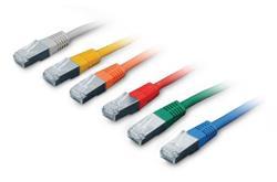 patch kábel Cat5E, FTP, 5m, modrý