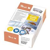 Peach Laminating Pouch Credit Card (54x86mm), 125mic