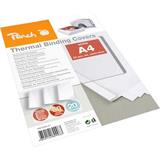 Peach Thermal Binding Covers A4 6mm white