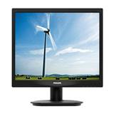 "Philips 17S4LSB/00 17"" LCD 1280x1024 20 000 000:1 5ms 250cd DVI cierny"