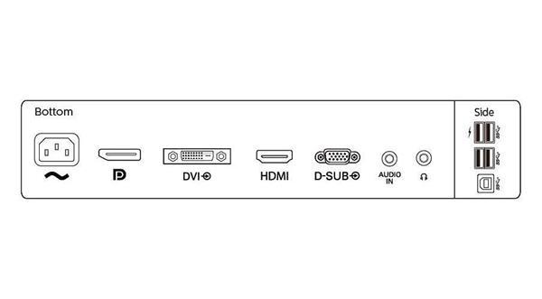 "Philips 252B9/00 25"" IPS LED 1920x1200 50 000 000:1 5ms 300cd DP HMDI DVI USB-C PIVOT repro cierny"