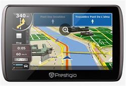 "PRESTIGIO GPS navigácia GeoVision 5060"" 4GB Flash 128MB DDR3 600mAh čierna"