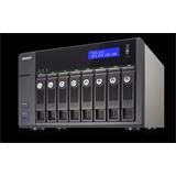 QNAP™ TVS-871-i3-4G 8bay 4GB 4LAN 10G-ready, Dual-core Intel Core i3-4150 3.5 GHz Processor