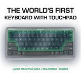 ROZ_Prestigio Click&Touch, bezdrotova klavesnica s touchpad-om