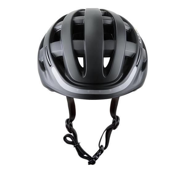 ROZBALENE_LUMOS Smart Cyklo Prilba - 54-62cm, integrované smerové a brzdové svetlá, akumulátor- čierna