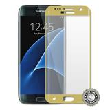 ScreenShield Galaxy G935 Galaxy S7 Edge Tempered Glass protection full cover (gold) - Film for display protection