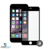 ScreenShield Tempered Glass iPhone 6S Black (full cover with silicon ring) - Film for display protection