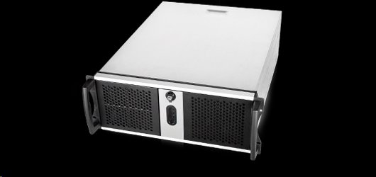 Server Chassis Chenbro RM42300-F2, rack 4U, Black, bez