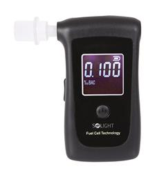 Solight alkohol tester profesionálny, Fuel Cell, 0,00 - 4,00‰ BAC, citlivosť 0,008‰