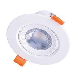 Solight LED podhľadové svietidlo bodové, 9W, 720lm, 4000K, okrúhle, biele