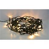 Solight LED vianočná reťaz, 500 LED, 50m, prívod 5m, IP44, teplá biela