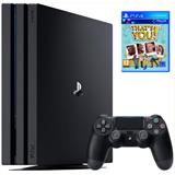SONY PlayStation 4 Pro 1TB, jet black + THATS YOU (VOUCHER)