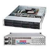 Supermicro® CSE-825TQ-R740LPB 2U chassis rev M