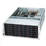 Supermicro® CSE-847E26-R1K28LPB 4U chassis chassis 36x Hot-swap HDD 1280W redundant PSU