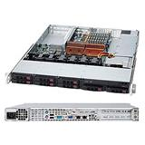 "Supermicro® SC113TQ-R650CB 1U chassis 8x 2,5"" hot-swap SAS/SATA"