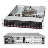 "Supermicro® SC216A-R900UB 2U chassis 24 x 2,5"" hot-swap SAS/SATA"